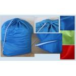 Τσάντα απλύτων μονόχρωμη, μπλε