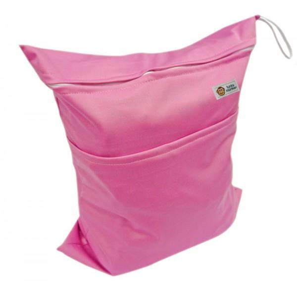 Τσάντα Wet & Dry μονόχρωμη, ροζ