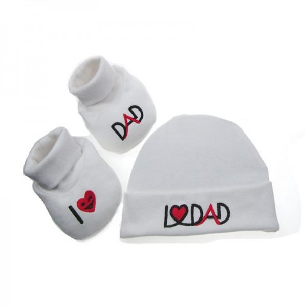 Σετ δώρου για νεογέννητο I LOVE DAD