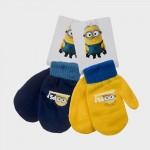 Γάντια με σχέδιο MINIONS, σε δύο χρώματα