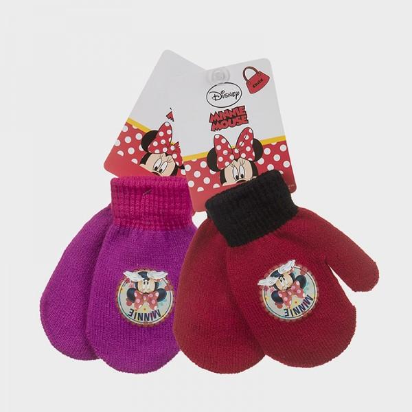 Γάντια με σχέδιο MINNIE, σε δύο χρώματα