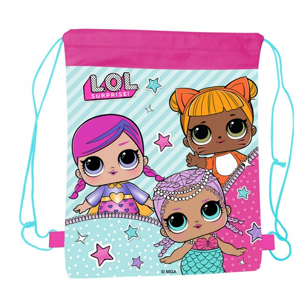 Τσάντα γυμναστηρίου με σχέδιο L.O.L. Surprise