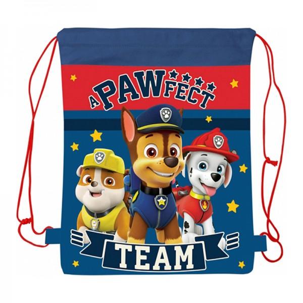 Τσάντα γυμναστηρίου με σχέδιο Paw Patrol