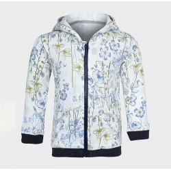 c67be00d646f Φθινοπωρινό ανοιξιάτικο φούτερ - ζακέτα floral με κουκούλα και τσέπες