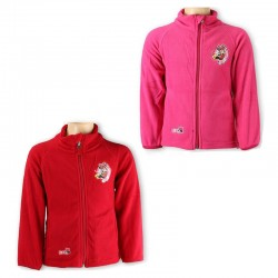 377df320879d Φούτερ - ζακέτα με τσέπες  MINNIE  σε κόκκινο ή φούξια χρώμα
