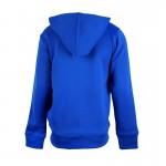 Ζακέτα μπλε ανοιχτό, με κουκούλα και τσέπες, U.S. POLO