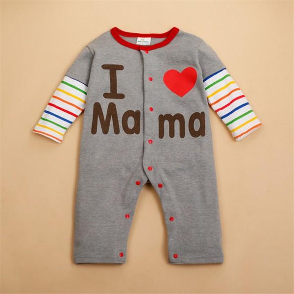 Φορμάκι βαμβακερό μακρυμάνικο, I Love Mama