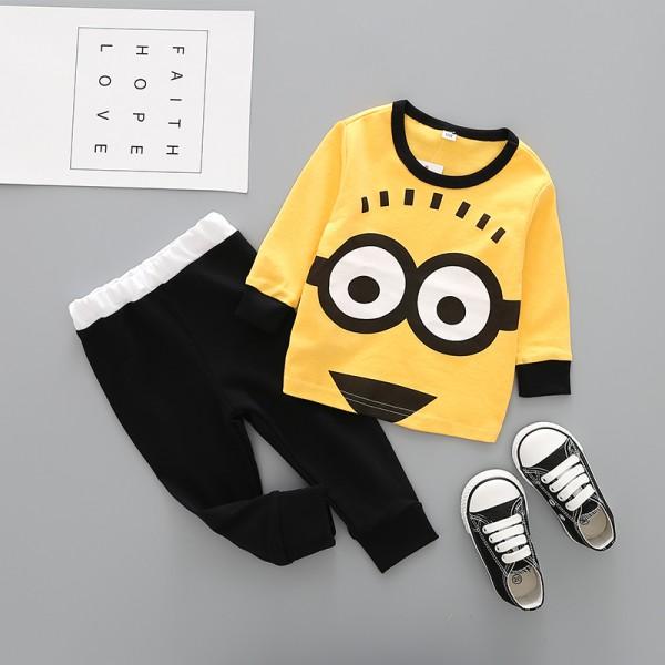 Πιτζάμες MINIONS, κίτρινο - μαύρο
