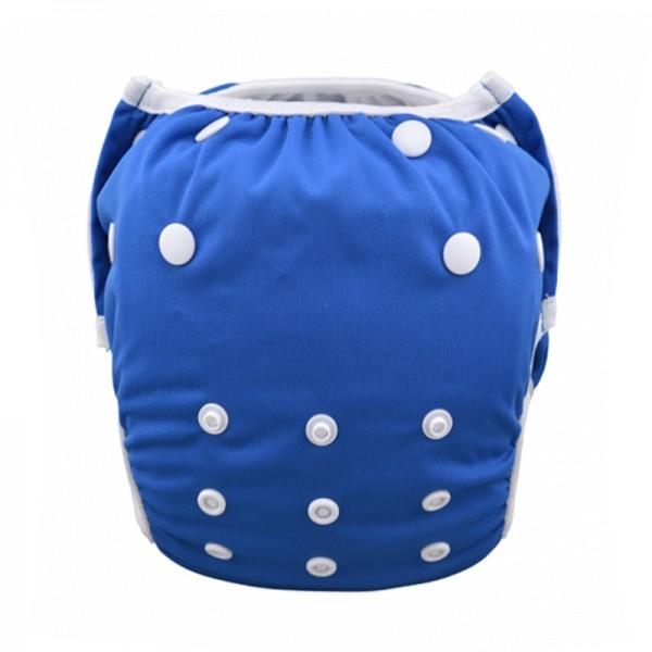 Πάνα - μαγιό πλενόμενο One Size μονόχρωμο, μπλε