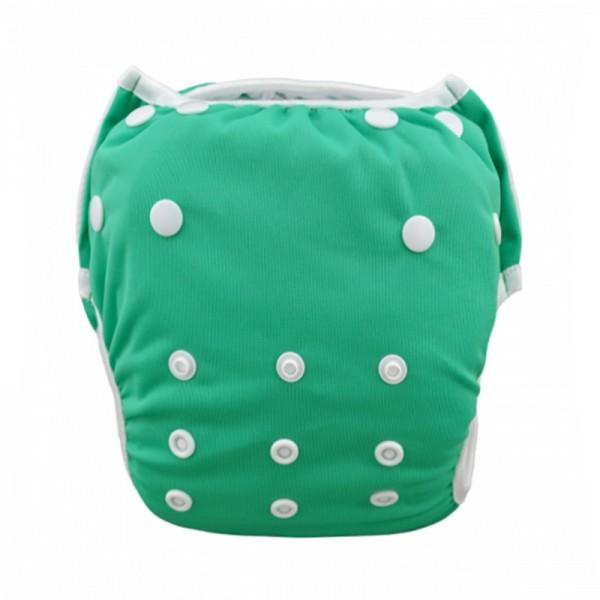 Πάνα - μαγιό πλενόμενο One Size μονόχρωμο, πράσινο