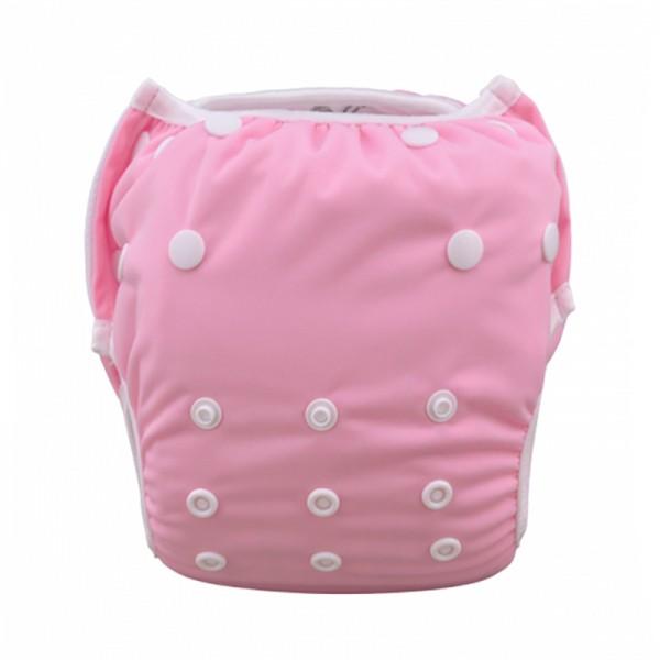 Πάνα - μαγιό πλενόμενο One Size μονόχρωμο, ροζ