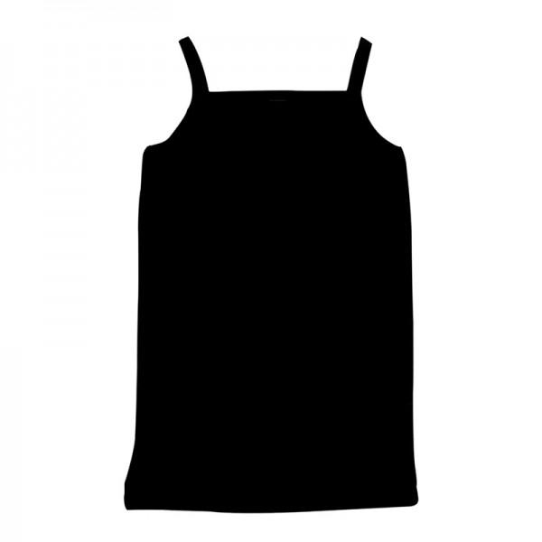 Φανελάκι αμάνικο τιραντάκι, μαύρο